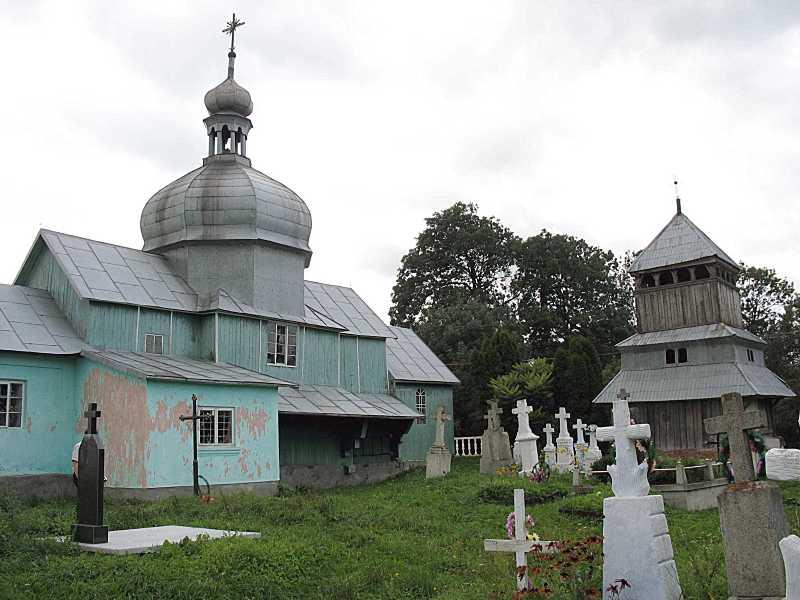 2006 р. Церква і дзвіниця. Вигляд з…