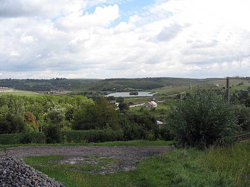 2006 р. Панорама з видом на став