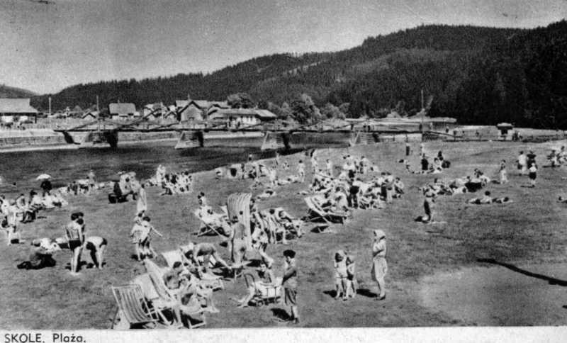 1930-і рр. Пляж у Сколе