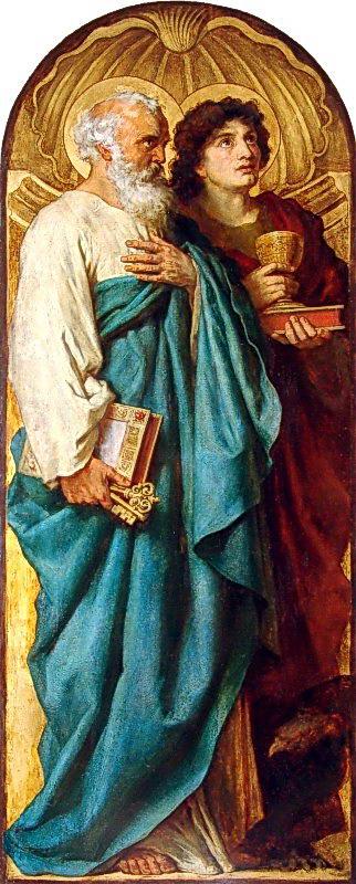 Апостоли Петро та Іоан. Кін. 19 ст.