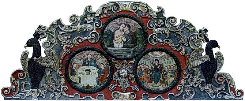 Верхня частина іконостасу