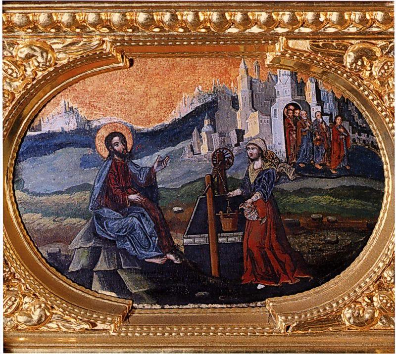 Христос і самаритянка, 4 чв.17 ст.