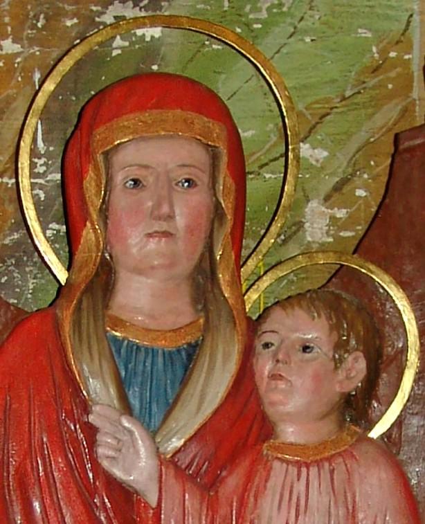 Голови Марії та Ісуса