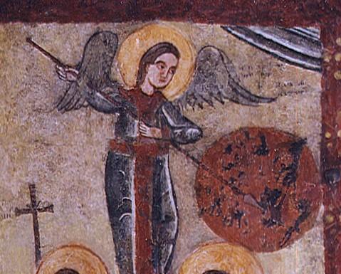 Ангел зі списом проти бісів