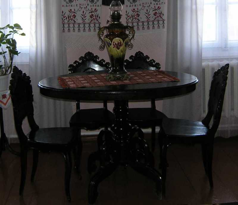 Table and chairs - House in…