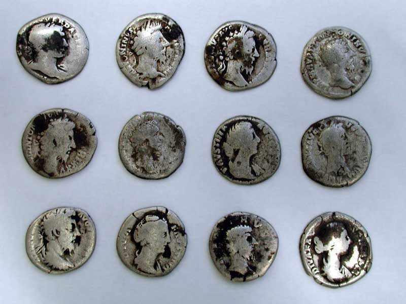 Срібні римські монети середини 2 ст.…