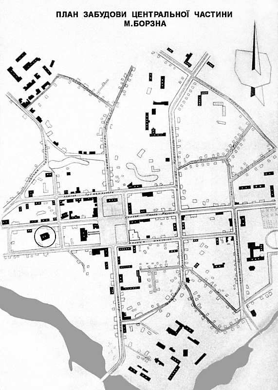 2006 р. План забудови центру міста (в…