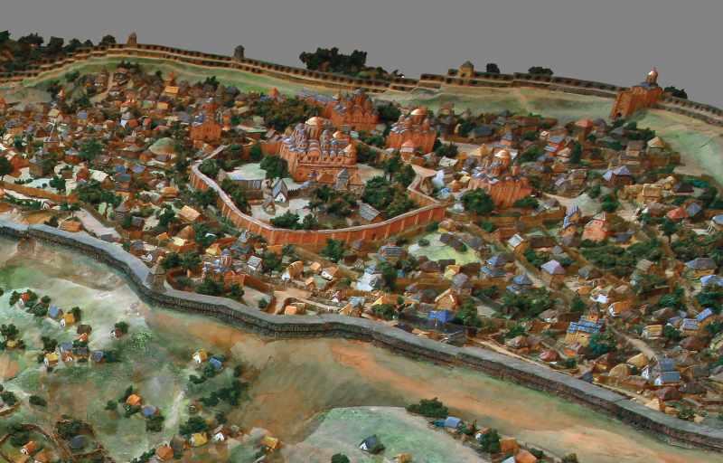 Вигляд центральної частини города з…