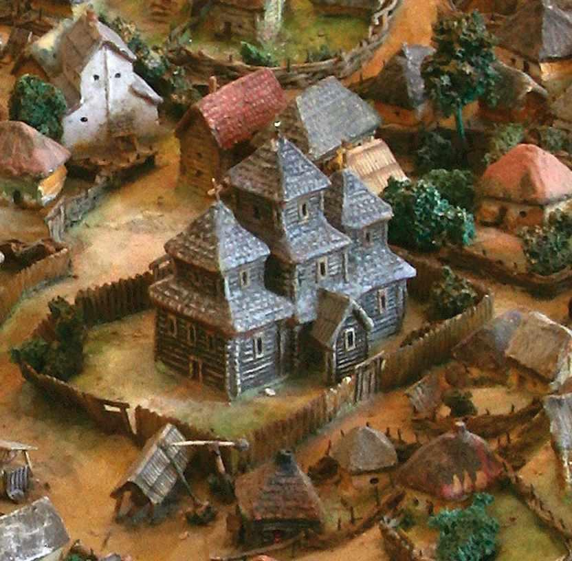 Гіпотетична дерев'яна церква