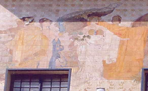 Мінерва, Вікторія, Аполон, Юнона та Юпітер