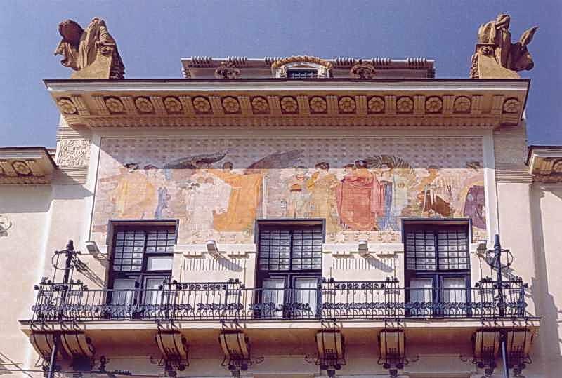 2006 р. Верхній поверх головного фасаду