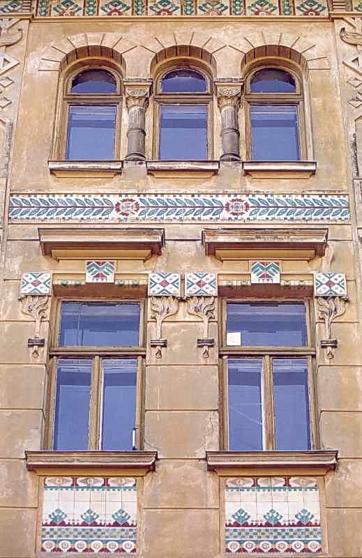 2006 р. Фрагмент фасаду по вул.Руській