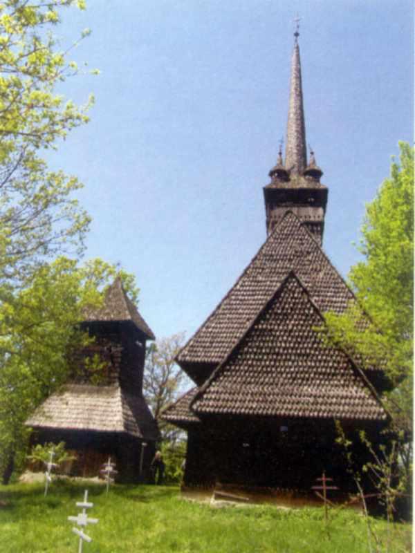 Дзвіниця і церква. Вигляд з позиції С1.