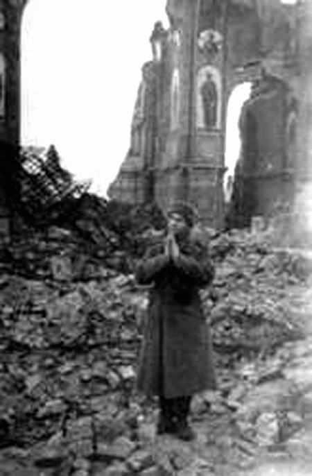 1943 р. На руїнах собору
