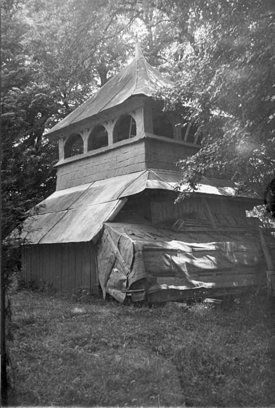 1990-і рр. Дзвіниця. Вигляд з північного сходу
