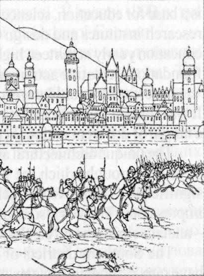 Козаки під Львовом у 1648 р.