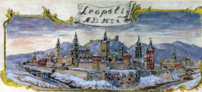 1772 р. Панорама Львова