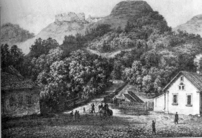 Бл. 1880 р. Замкова гора