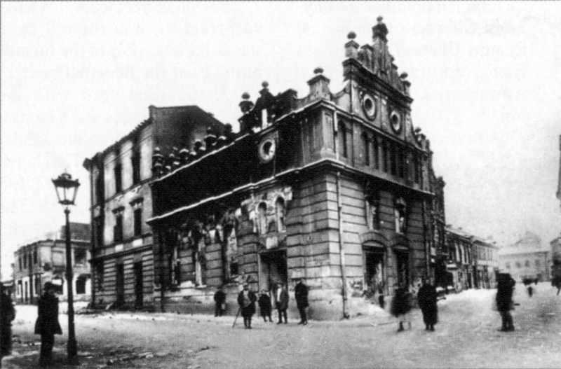 1918 р. Хасидська синагога при давній…