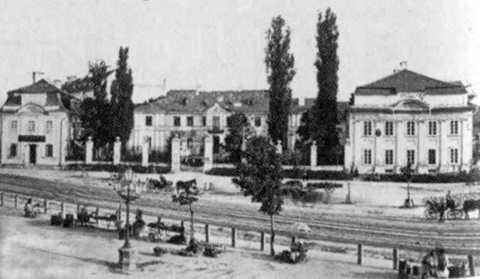 1880-і рр. Палац Бєльських-Коморовських