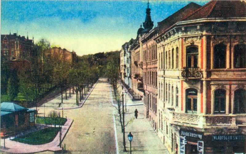 Поч. 20 ст. Перспектива вул.Паркової