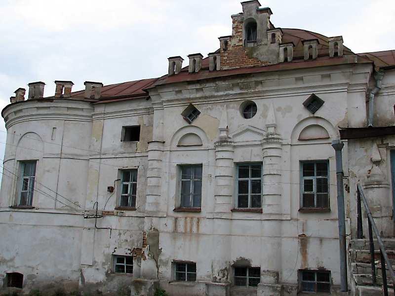 2008 р. Бічний фасад головного корпусу