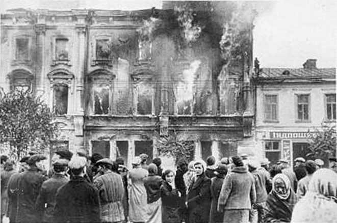 1941 р. Пожежа Хрещатика