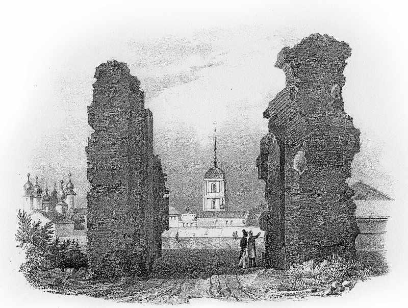 1835 [?] р. Загальний вигляд з півдня