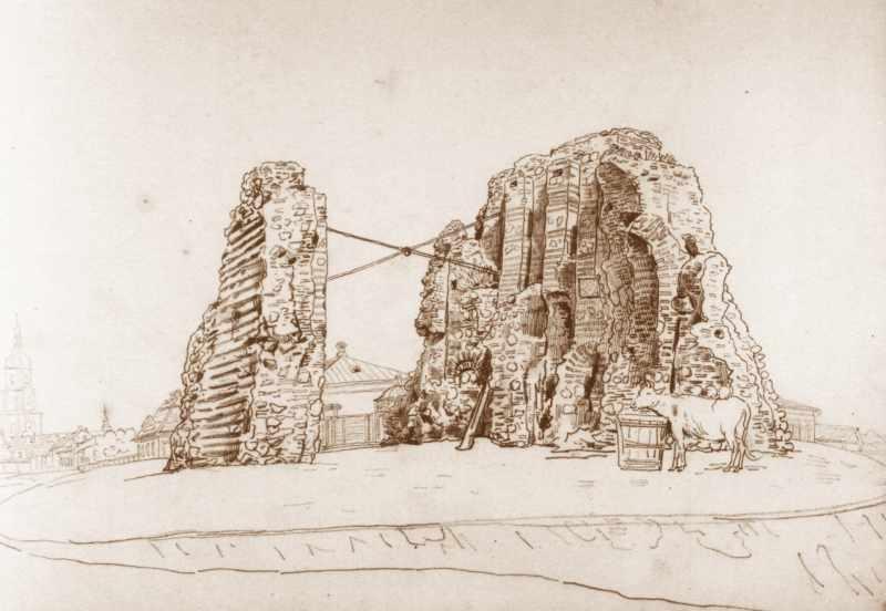 1851 р. Загальний вигляд з півдня…