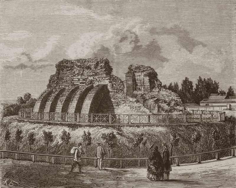 1869 р. Загальний вигляд з північного…