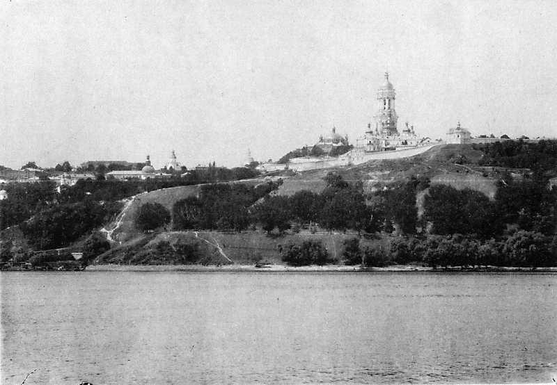 [Бл. 1900 р.] Загальний вигляд зі сходу(з альбому С.В.Кульженка)