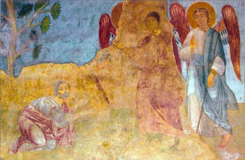 Явління ангелів Аврааму