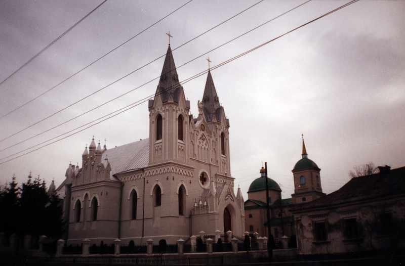 2001 р. Загальний вид центра міста