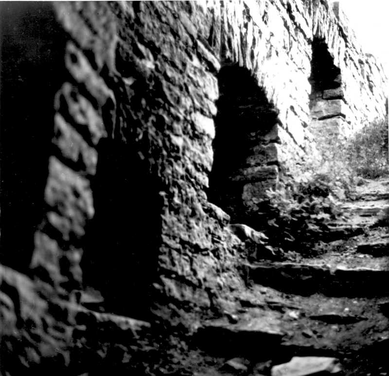 1988 р. Західна башта. Сходи