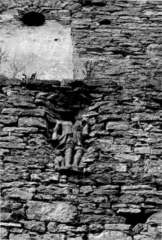 1988 р. Скульптура св.Роха, 1744 р.