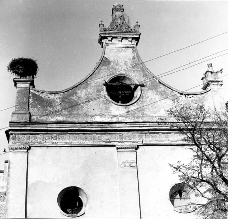 1988 р. Фрагмент cхідного фасаду