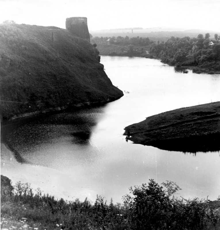 1988 р. Вид на північну башту на тлі…