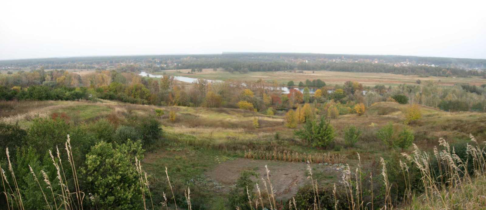 2008 р. Панорама долини Псла з…