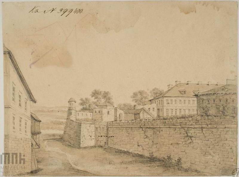 1862 – 1876 рр. Фрагмент замку