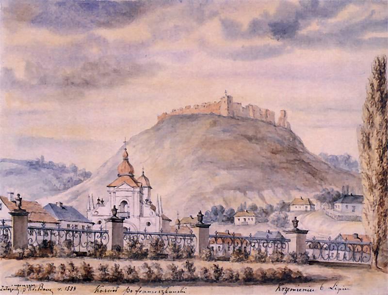 [1862 – 1876 рр.] Костел францисканів…