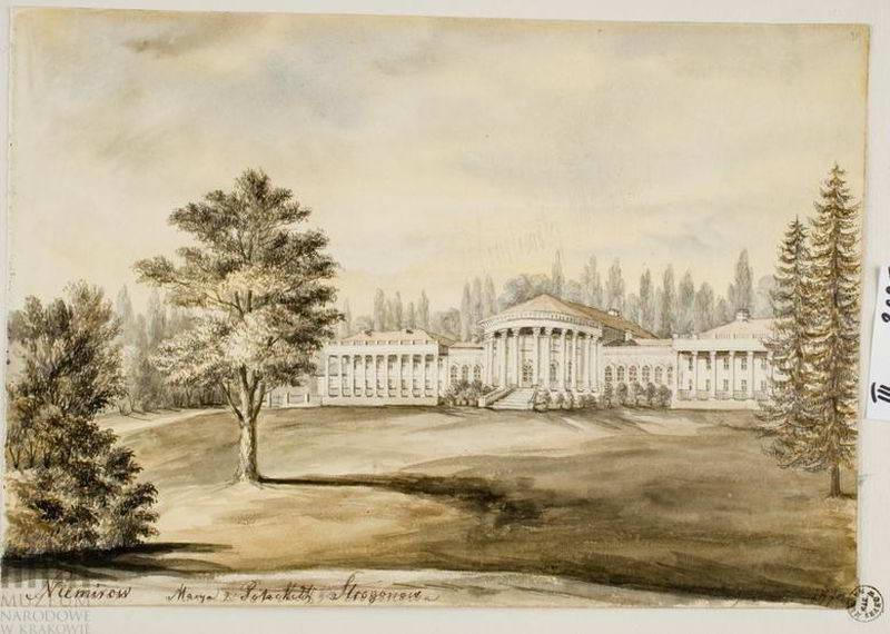 [1871 р.] Загальний вигляд з боку парку