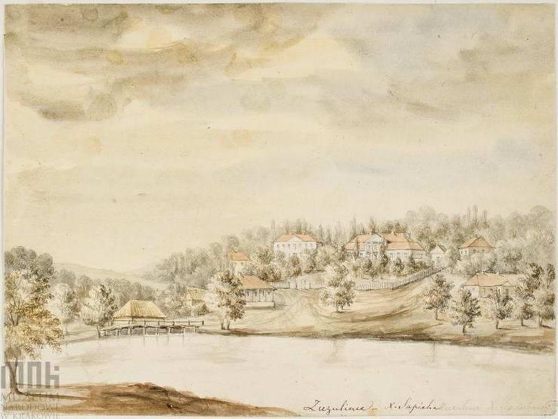 [1862 – 1876 рр.] Панорама з палацем…