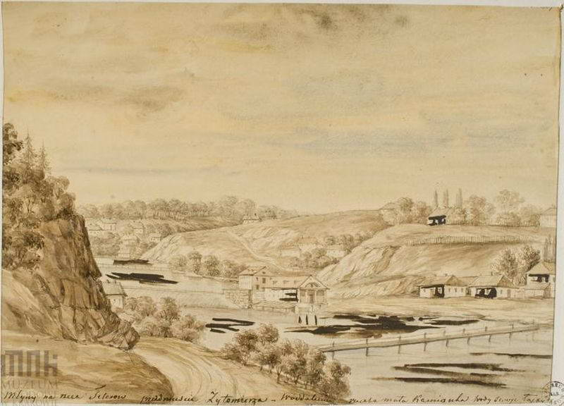 1870 р. Водяні млини на р. Тетерів