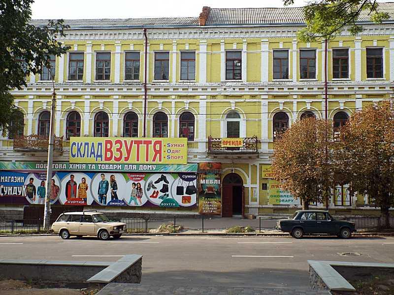 2017 р. Центральна частина головного фасаду