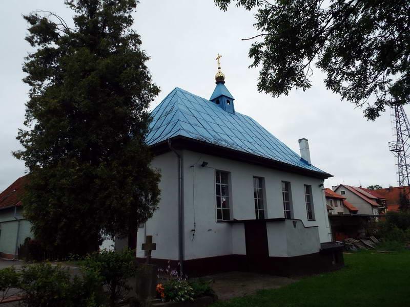 Православна Спаська церква в Браневі