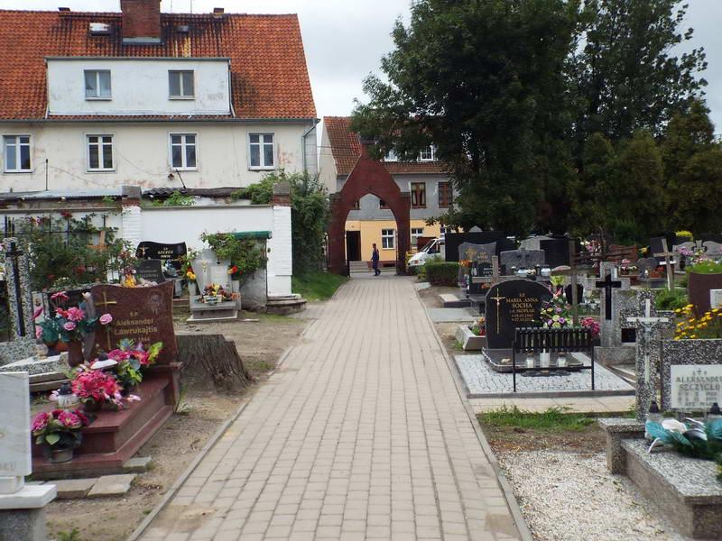 Цвинтар на вул. Морська