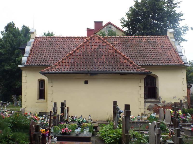 Каплиця св. Роха на цвинтарі по вул.…