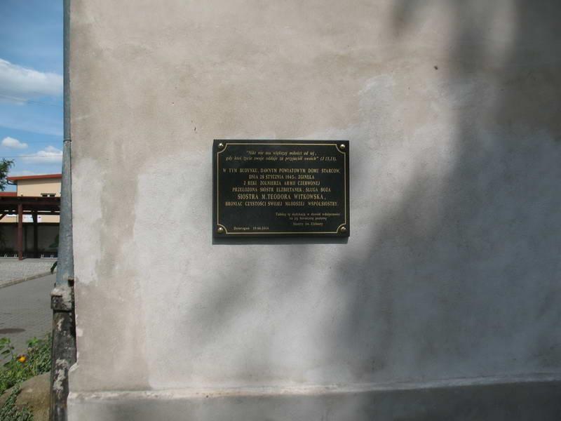 Меморіальна дошка в пам'ять Теодори…
