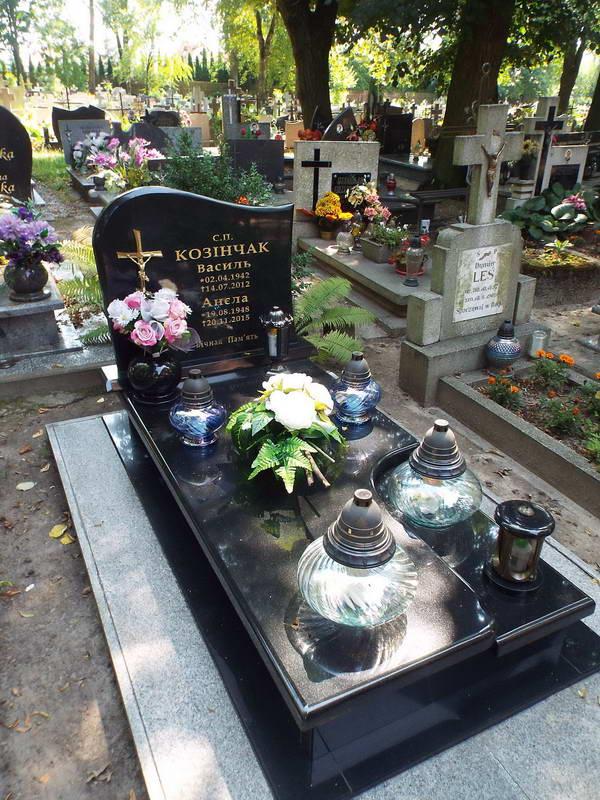 Поховання родини Козінчаків