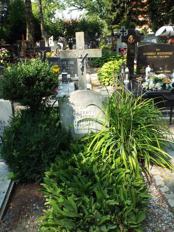 Поховання Аксентія Давидюка